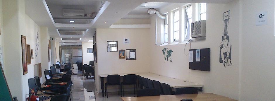 Contamos con grandes espacios de trabajo